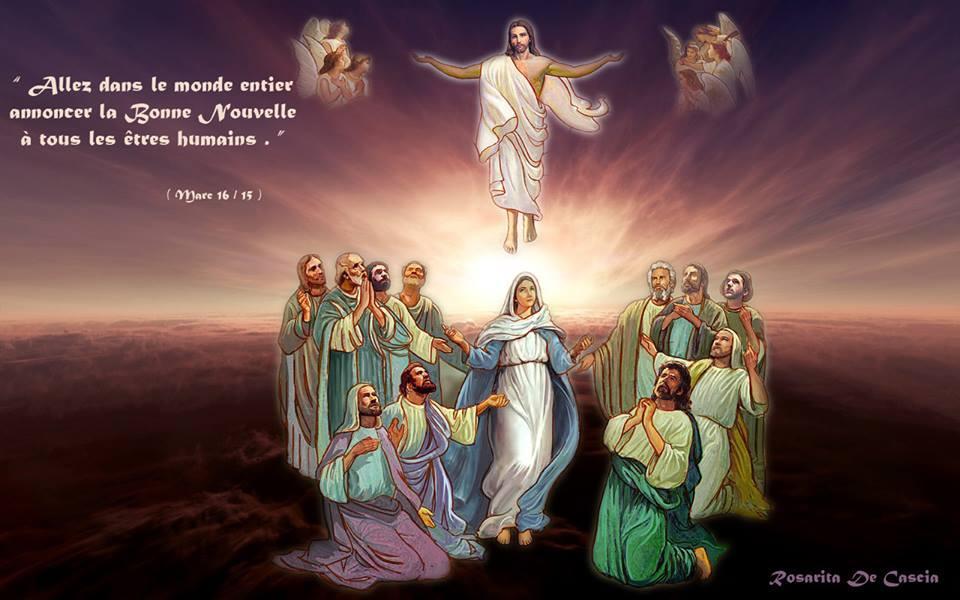 F te de l ascension la voix de dieu magazine - Jour de l ascension 2017 ...