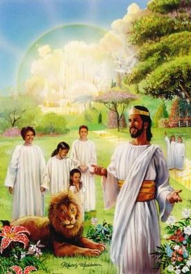 Résultats de recherche d'images pour «god and jesus in heaven»