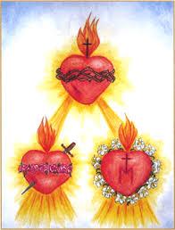 """Résultat de recherche d'images pour """"three hearts jesus mary joseph"""""""