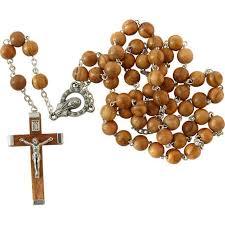Acheter Chapelet en bois d'olivier - Objets religieux - Boutique ...