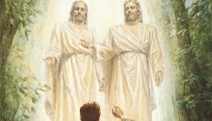 Dieu le Père, m'appela par mon nom et dit : Celui-ci est mon Fils ...
